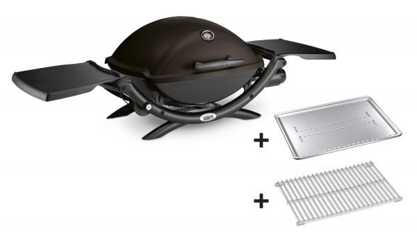 Weber Q2200 inkl. Hitzeschild und Bratenrost
