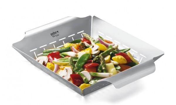 Weber Deluxe Gemüsekorb groß
