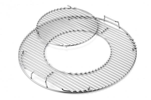 Weber Ersatzgrillrost 3-fach verchromt mit GBS