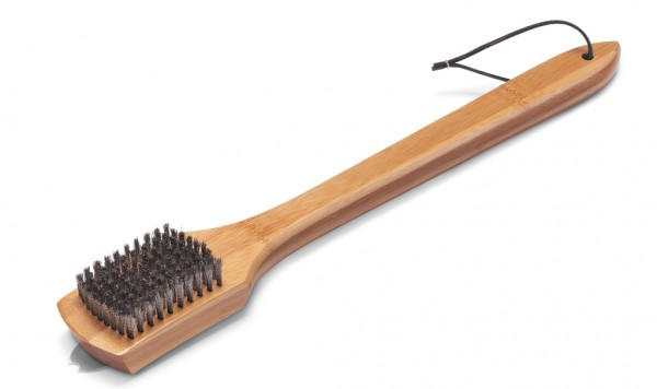 Weber Grillbürste mit Bambusholzgriff lang