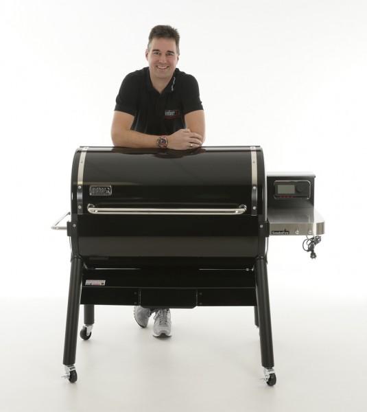Weber SmokeFire EX6 GBS Holzpelletgrill