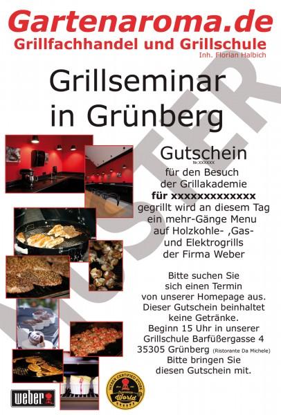 Grillseminar-Gutschein