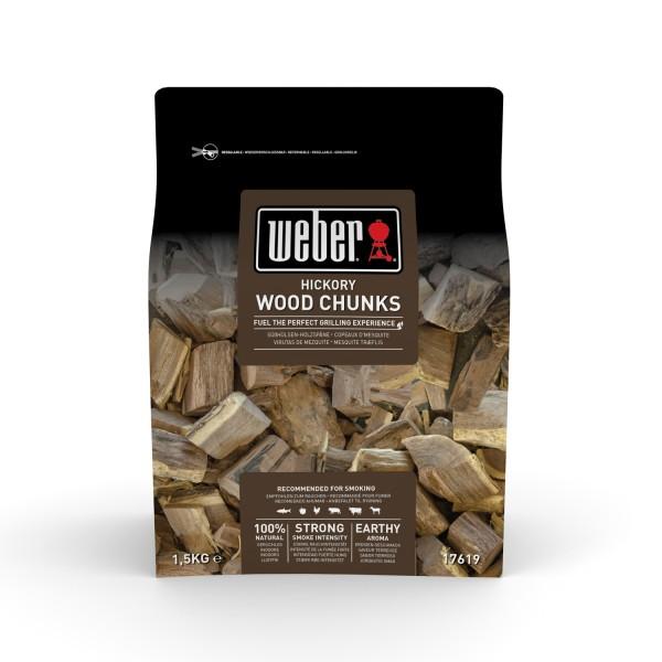 Weber Wood Chunks Hickoryholz