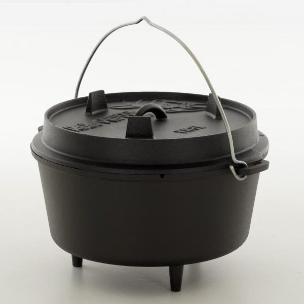 Valhal Outdoor Dutch Oven 8 Liter mit Füßchen